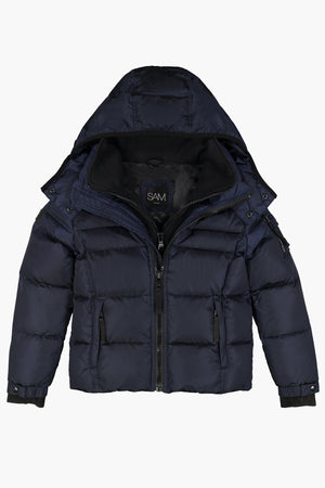 SAM. Matte Racer Boys Jacket - Navy
