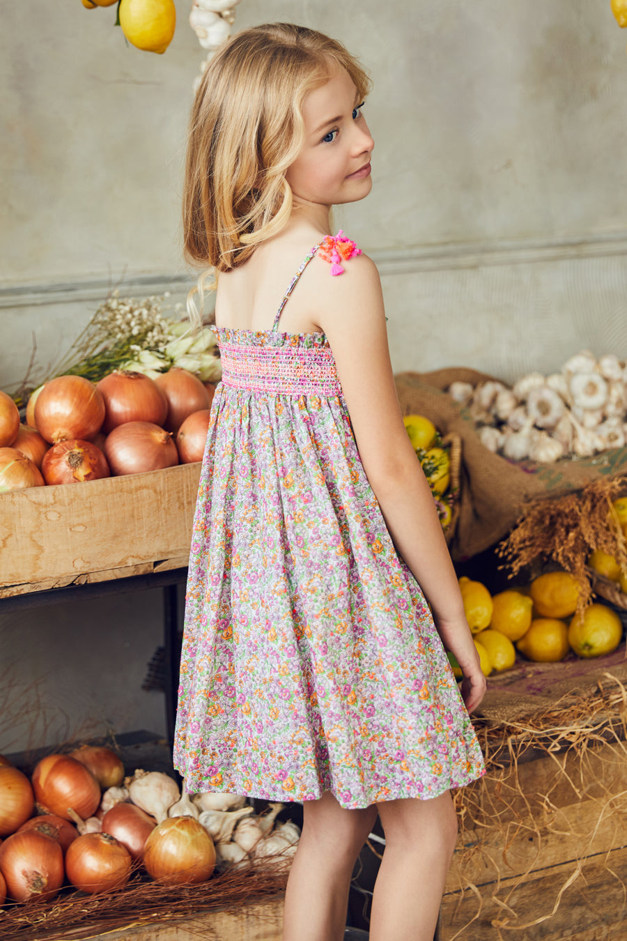 Nellystella Camila Dress - Spring Bouquet