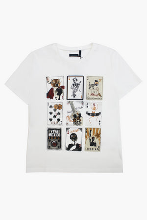 IKKS Playing Cards T-Shirt