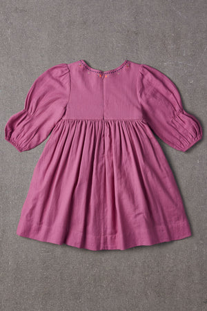 Nellystella Clover Dress - Radiant Orchid