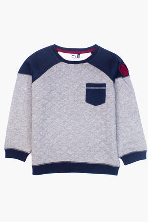 3pommes Colorblock Boys Sweatshirt