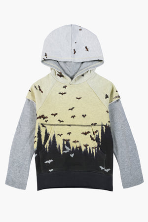 Paper Wings Dusk Flight Kids Hoodie