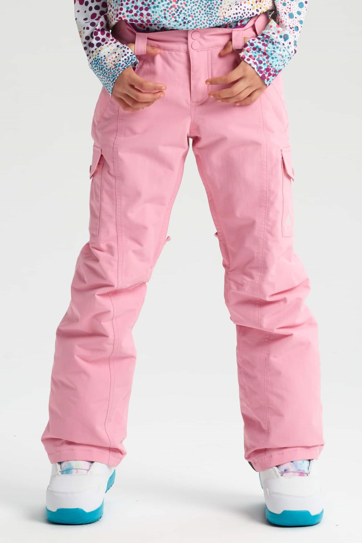 Burton Girls Elite Cargo Pant - Sea Pink
