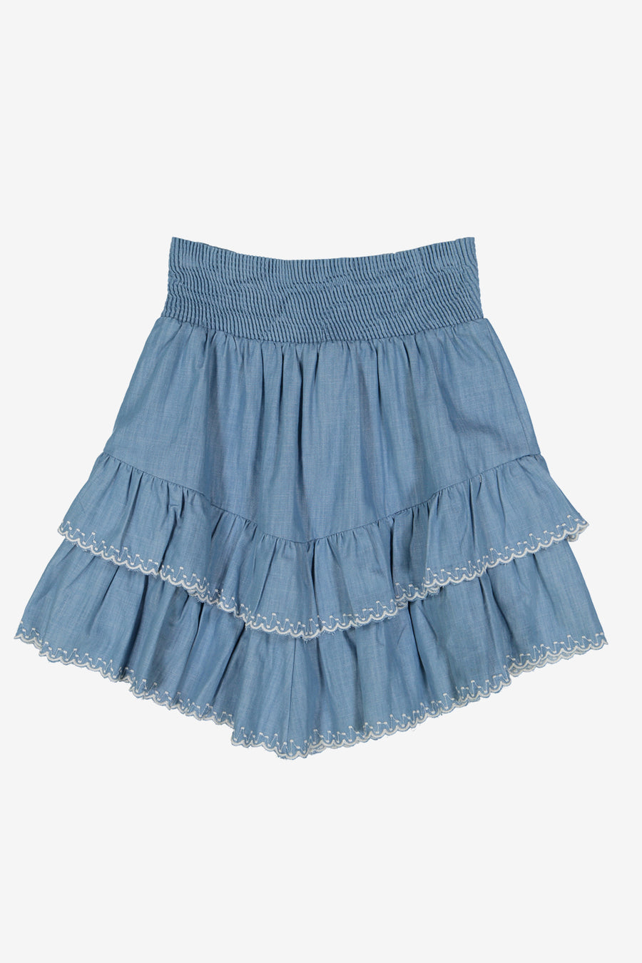 Les Coyotes de Paris Esti Chambray Skirt