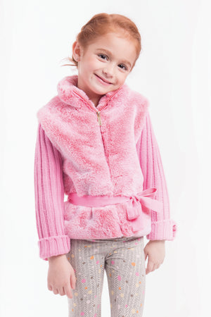 Imoga Eva Belted Girls Sweater