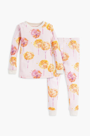 Burt's Bees Fall Foliage Pajama Set