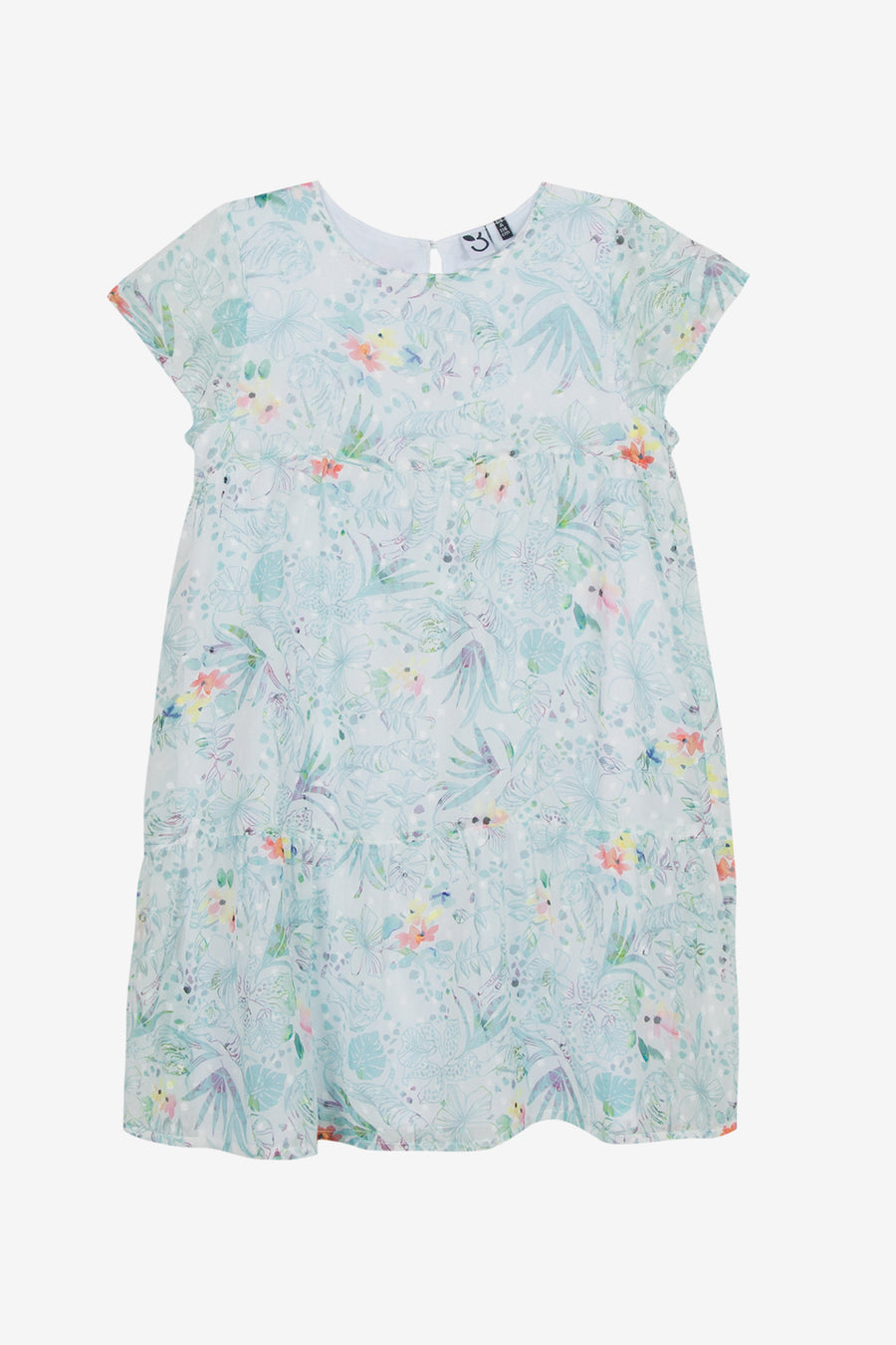 3pommes Breezy Floral Dress