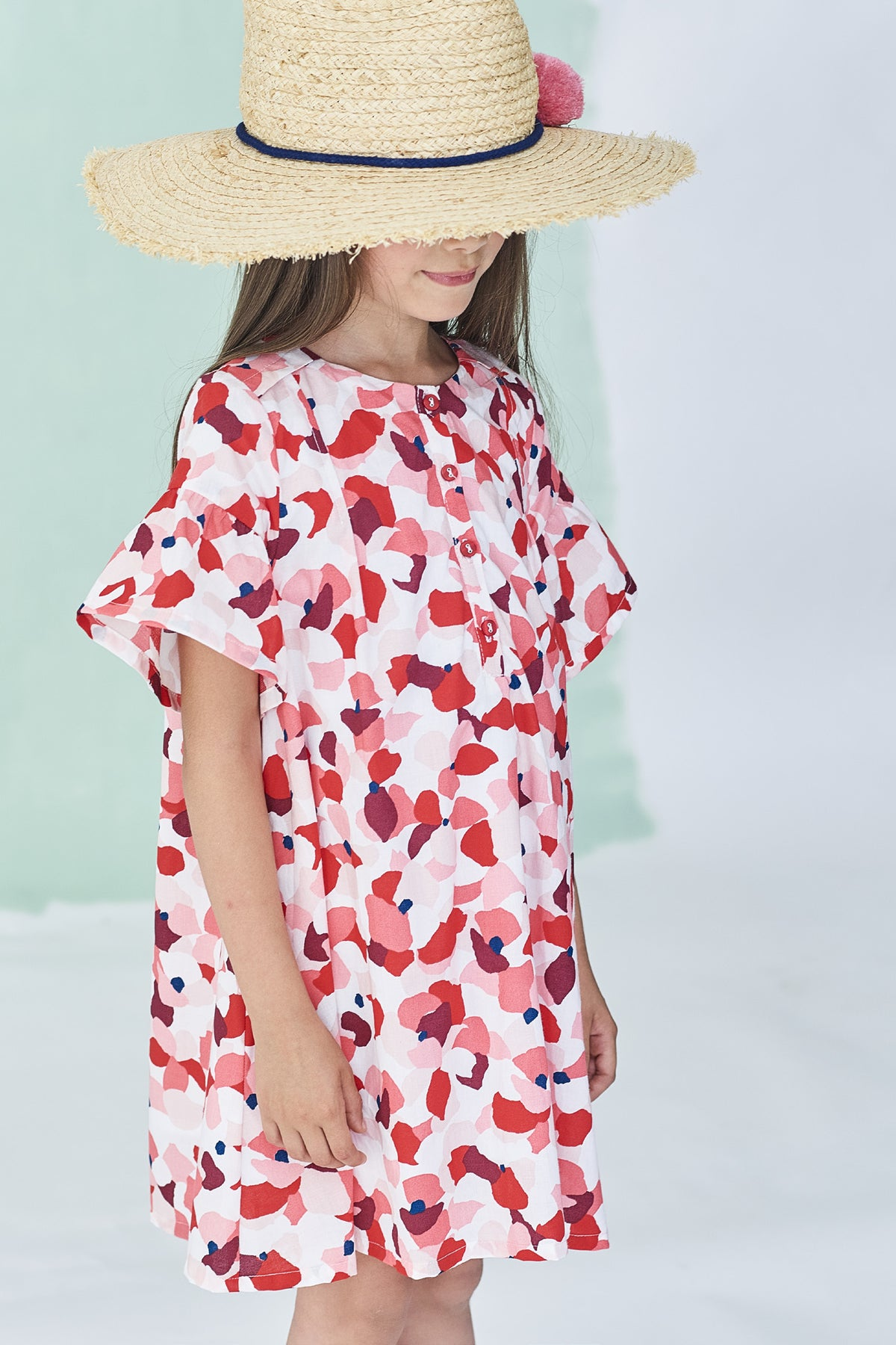 7717f8589 Jean Bourget Grenadine Dress - Mini Ruby
