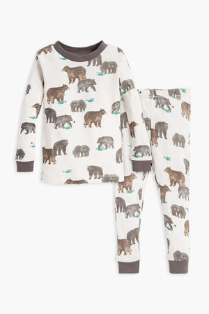 Burt's Bees Friendly Bears Pajama Set