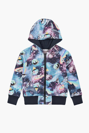 Paper Wings Space Kids Hoodie