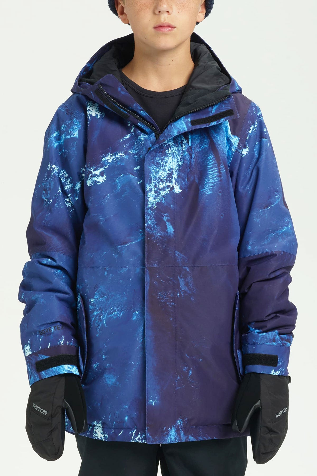 9dad02afe5d1 Burton Youth Gore-Tex Stark Jacket - Blue (Size 8 9 left) - Mini Ruby