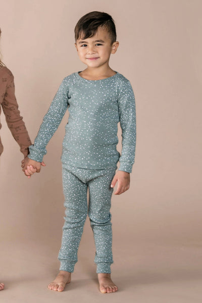 Rylee + Cru Snow Kids Pajama Set
