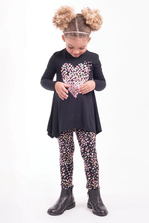 Imoga Alyssa Girls Leggings - Hearts