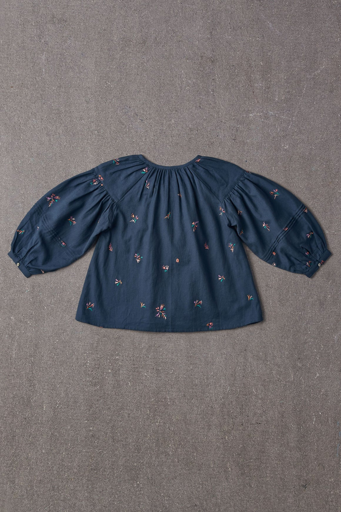 Nellystella Hellena Blouse - Autumn Melody Embroidery