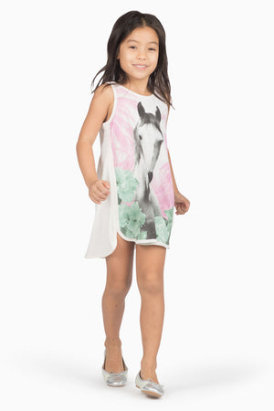Paper Wings Jungle Horse Tunic Dress
