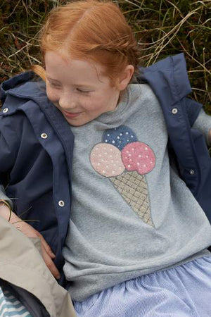Wheat Ice Cream Girls Sweatshirt