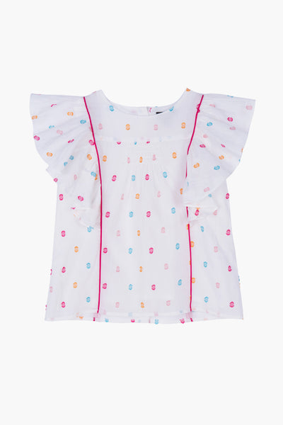 Velveteen Isadora Girls Shirt