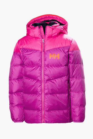 Helly Hansen Jr Isfjord Down Jacket - Festival Fuchsia