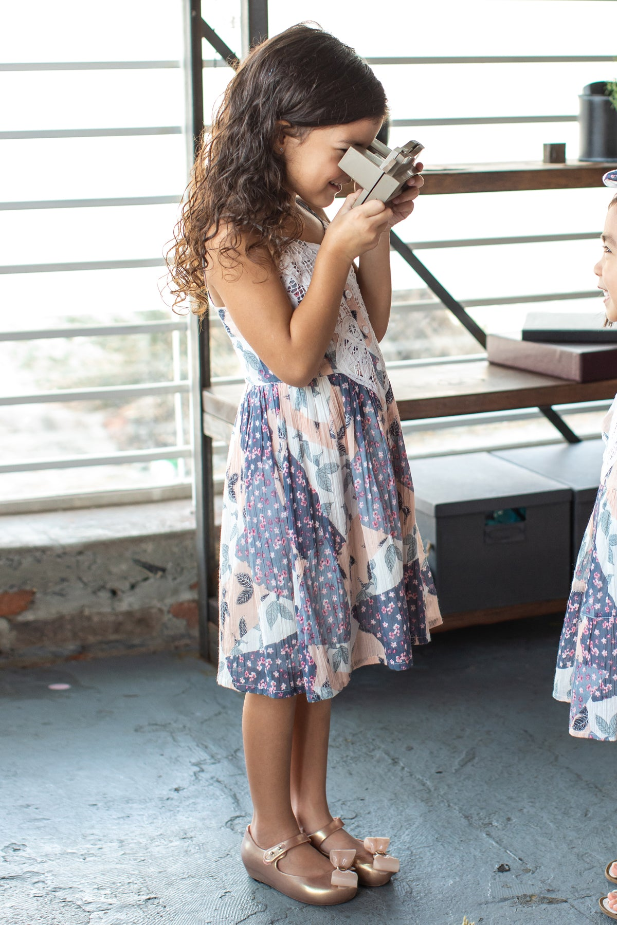 Mimi & Maggie Isla Girls Dress