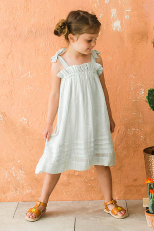 Lali Kids Jaipur Dress - Mint