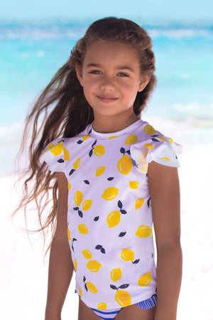 Sunuva Sicilian Lemon 3-Piece Swim Set
