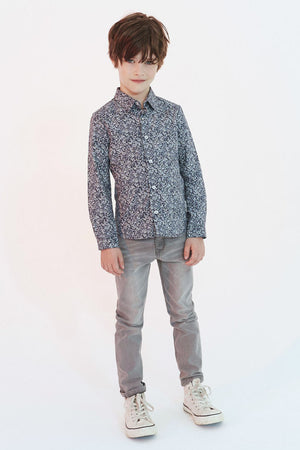 IKKS Light Grey Denim Boys Jeans