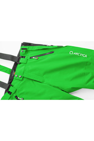 Arctica Youth Side Zip Ski Pants 2.0 - Lime