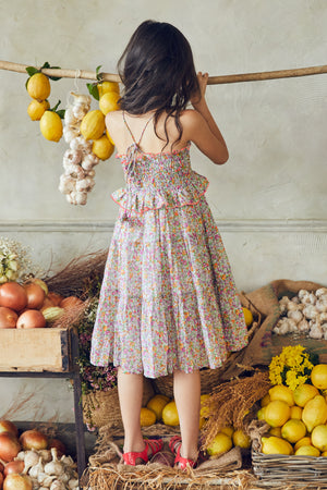 Nellystella Lola Dress - Spring Bouquet