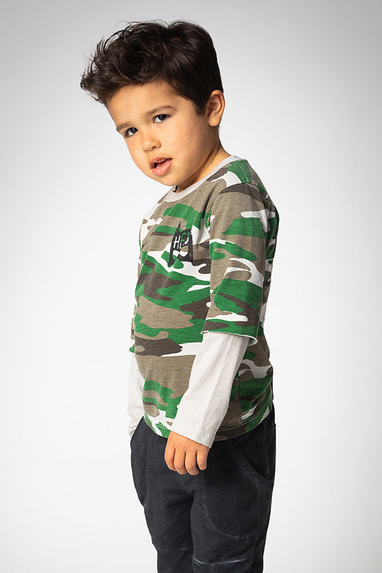 Joah Love Luka Camo Shirt