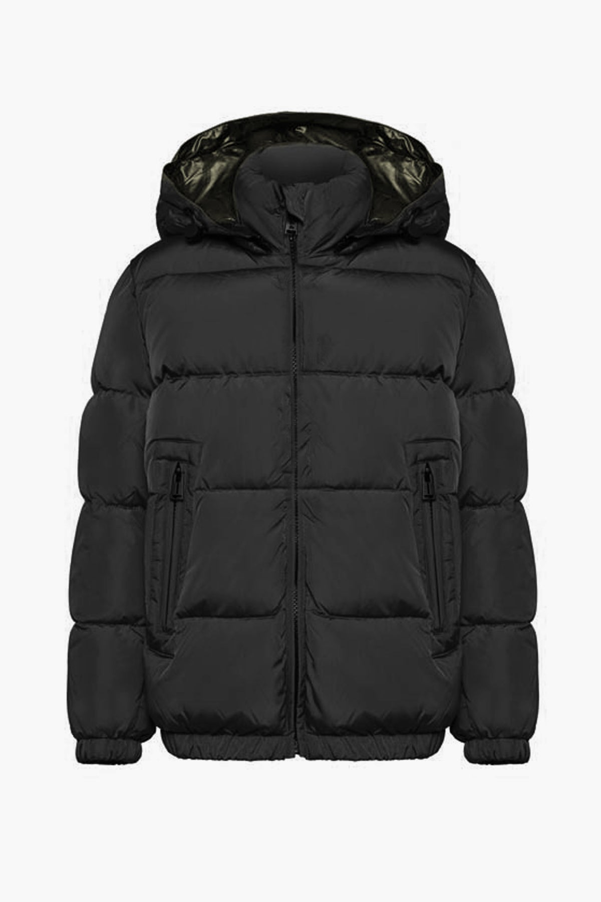 ADD Down Boys Down Jacket - Matte Black