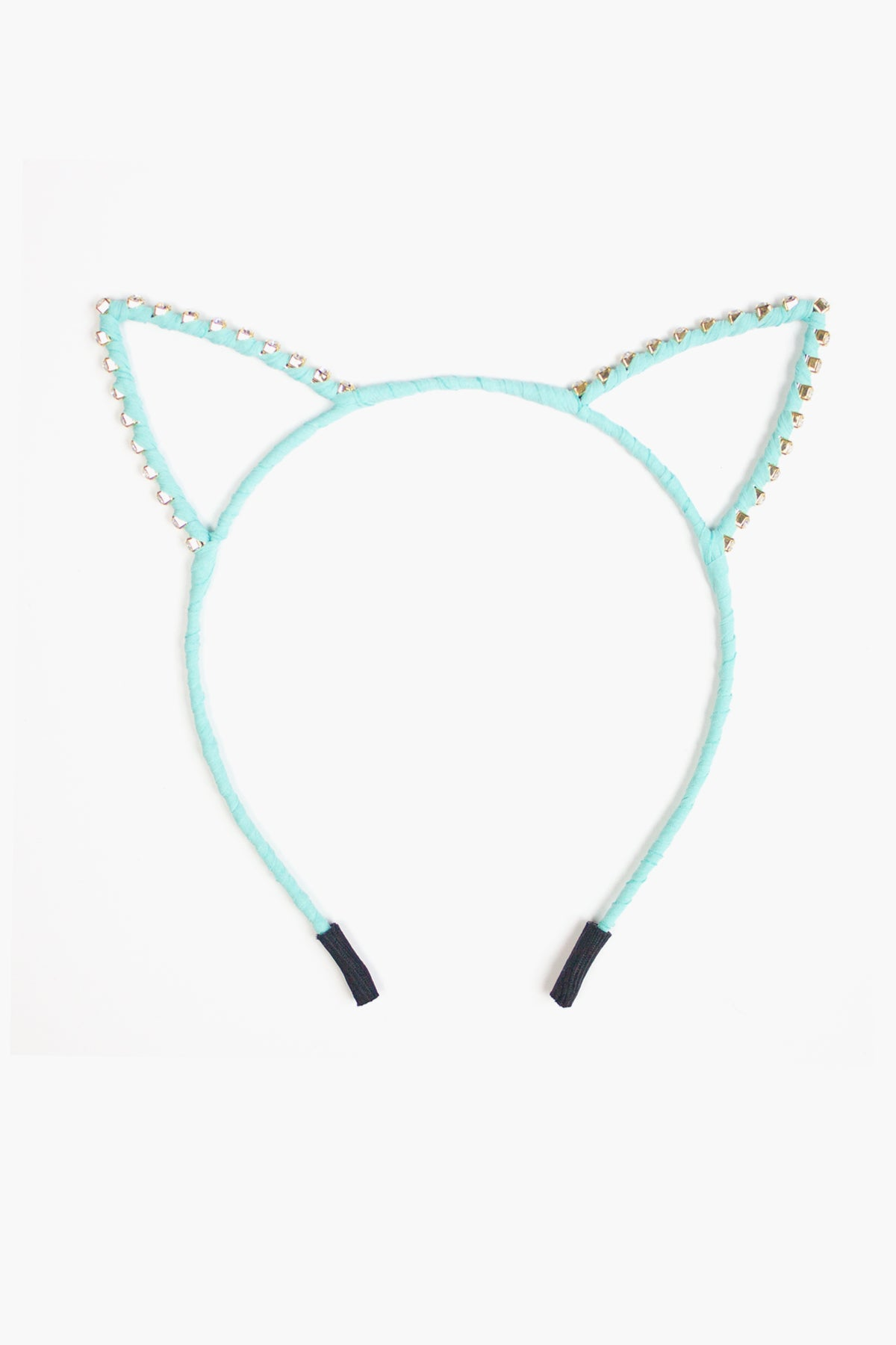 Cat Headband - Mint