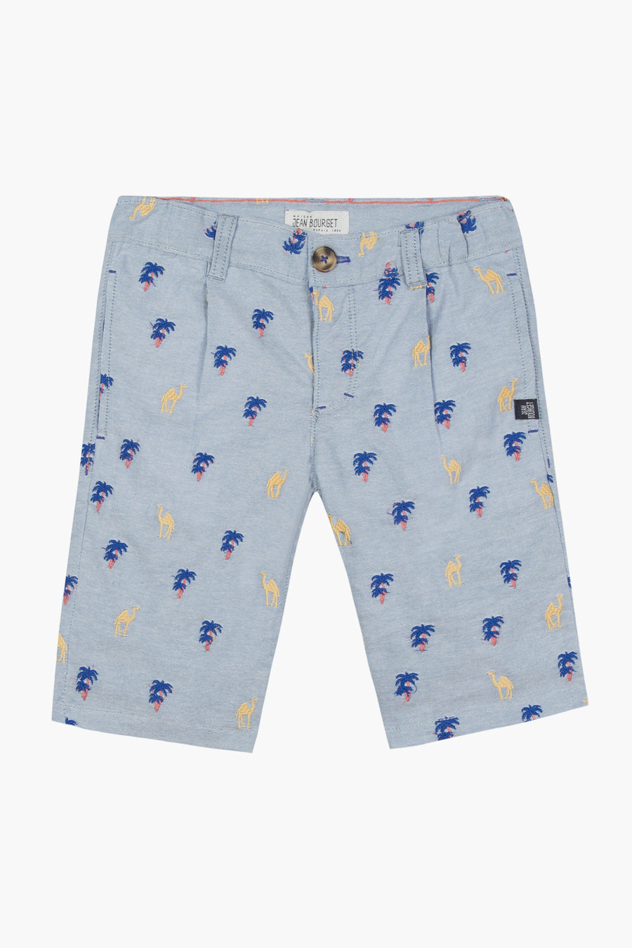 Jean Bourget Mirage Print Shorts