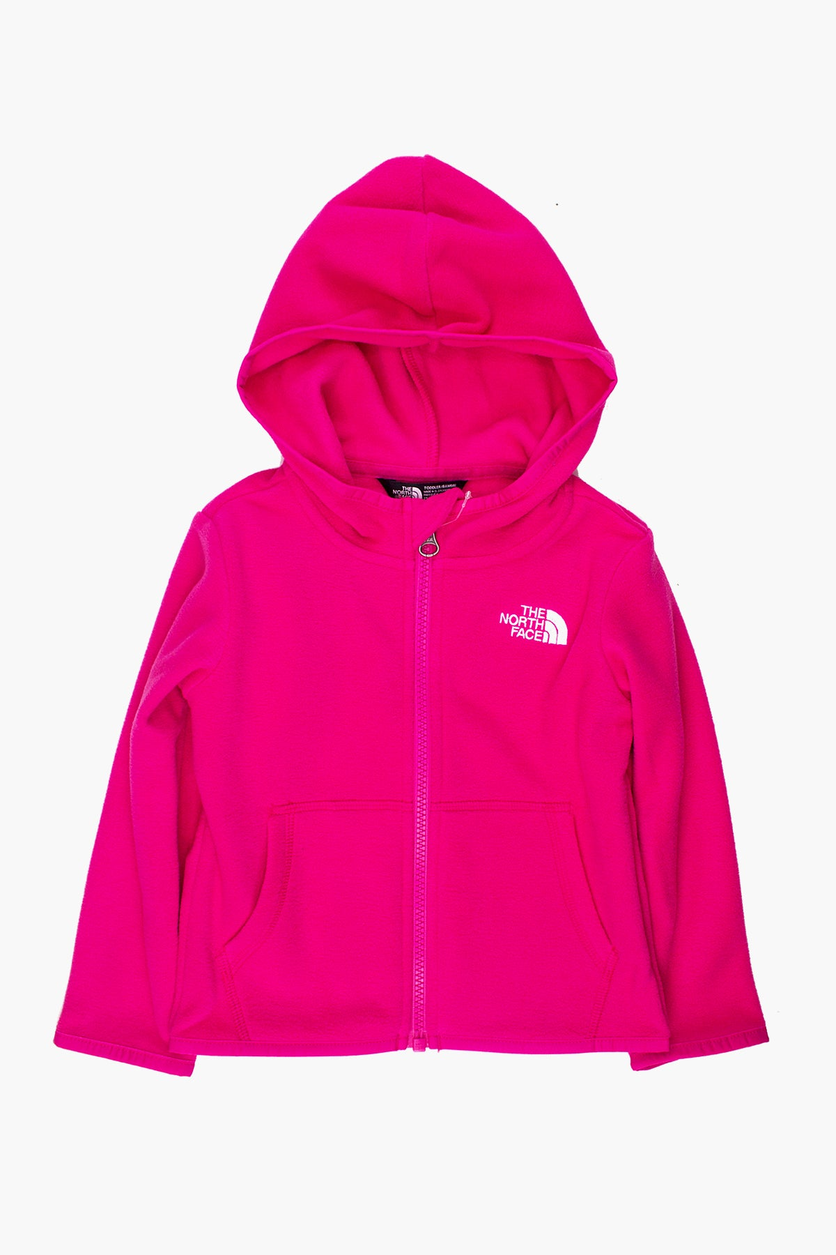 The North Face Glacier Full Zip Girls Hoodie - Mr. Pink
