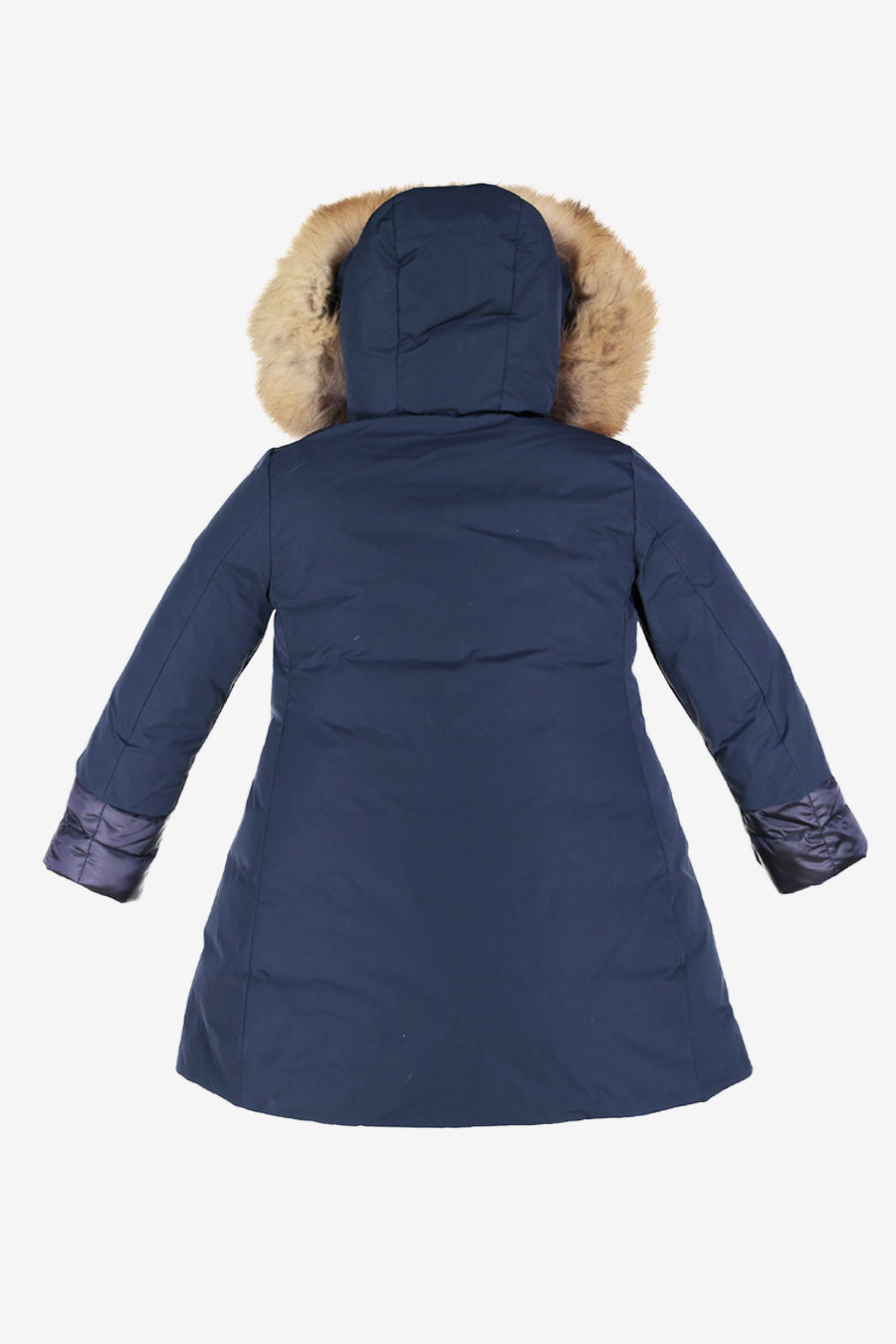 ADD Down Hooded Parka - Navy