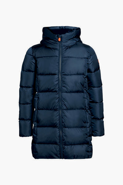 Save The Duck Navy Girls Puffy Coat
