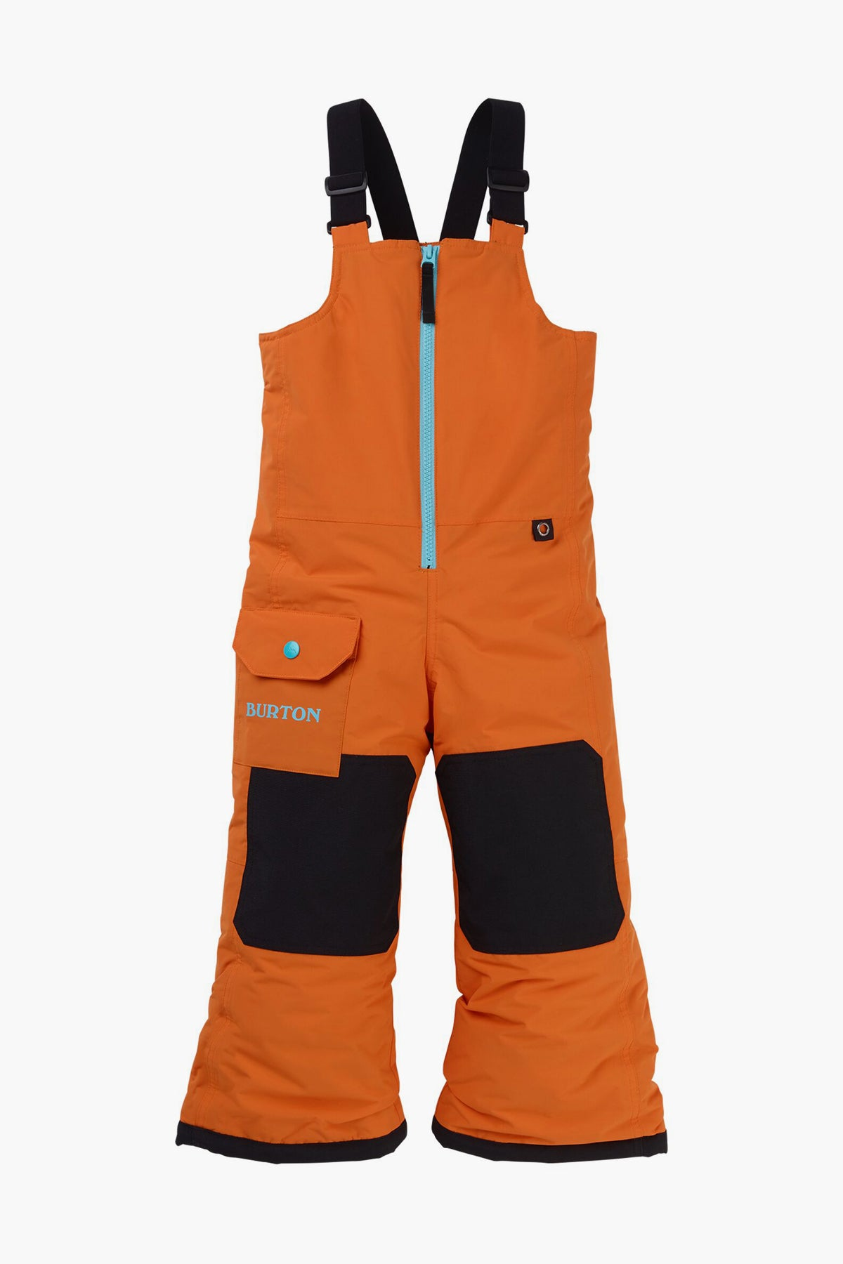 Burton Minishred Maven Bib Kids Snowpant - Russet Orange