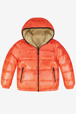 ADD Down Reversible Down Jacket - Orange