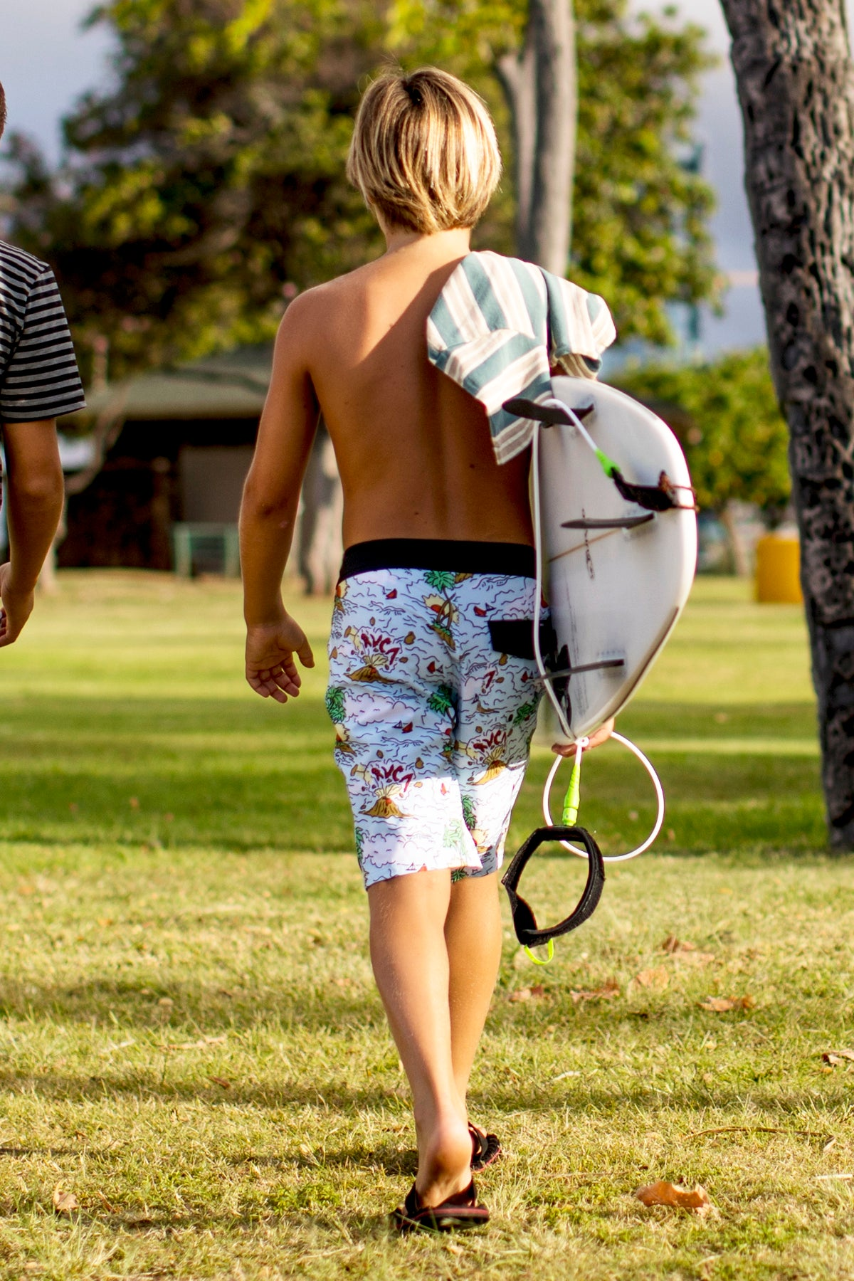 RVCA VA Trunk Print Boys Swimsuit