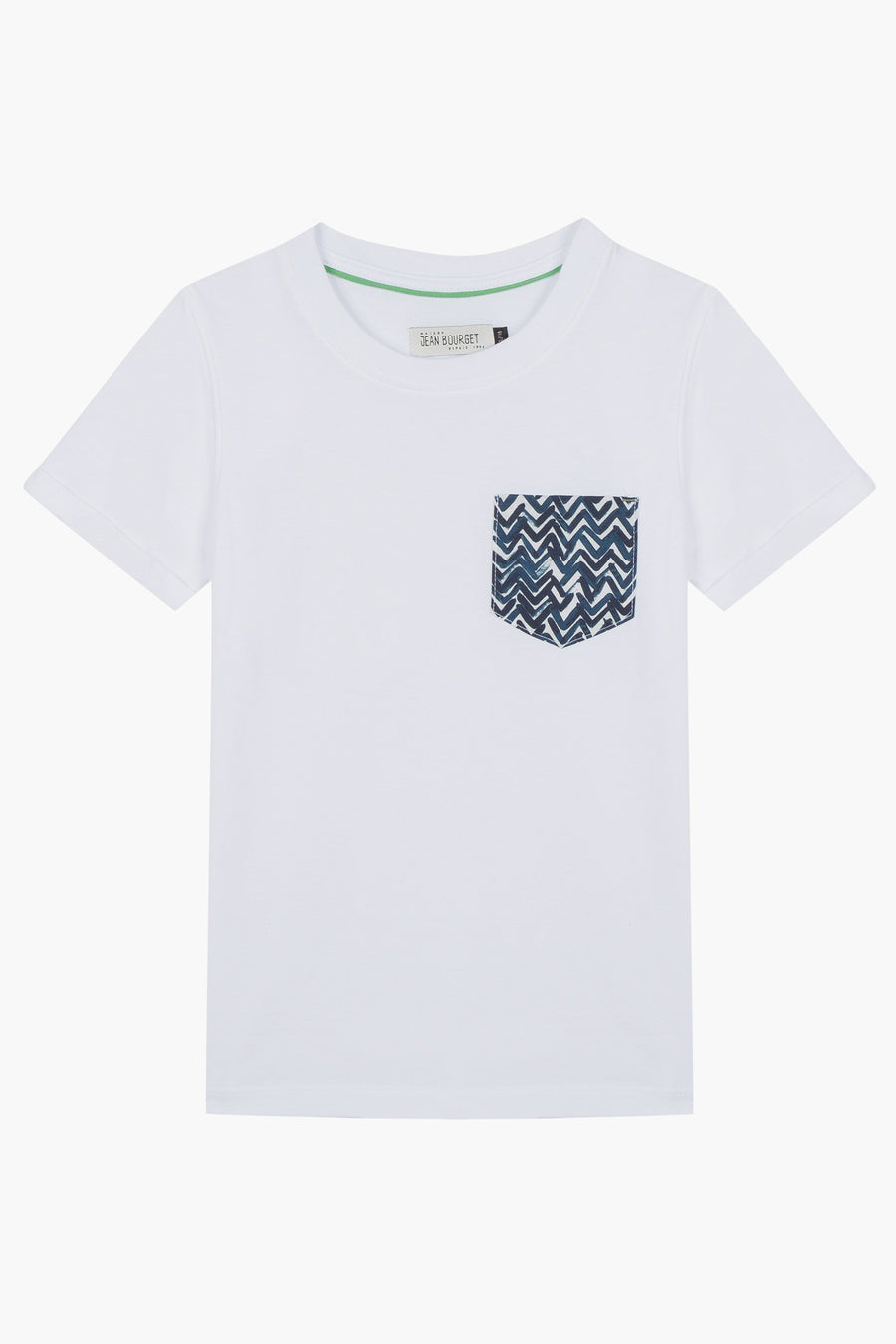 Jean Bourget Pocket Tee