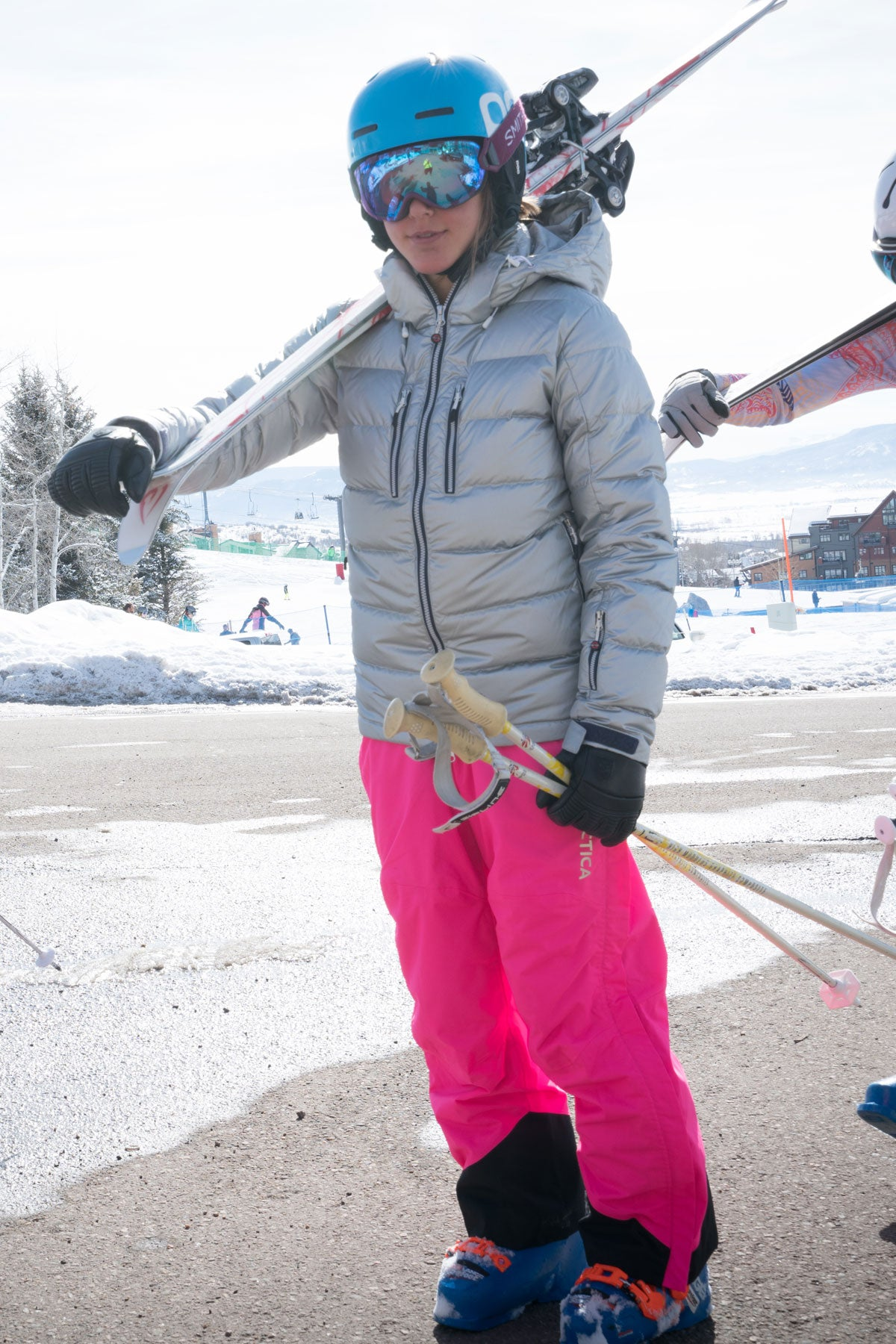 Arctica Youth Side Zip Ski Pants 2.0 - Hot Pink