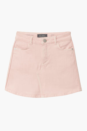 DL1961 Jenny Girls Jean Skirt - Rosewater