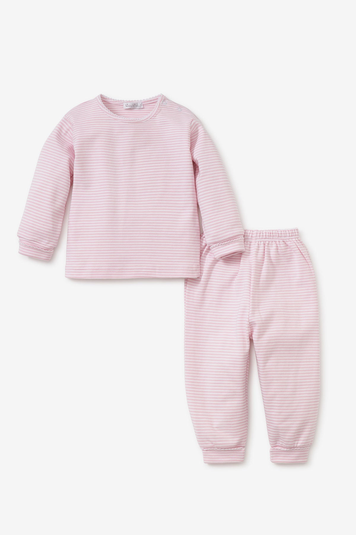 Kissy Kissy Pink Striped Baby Set