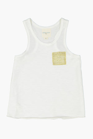 Louis Louise Piscine Top - Off White