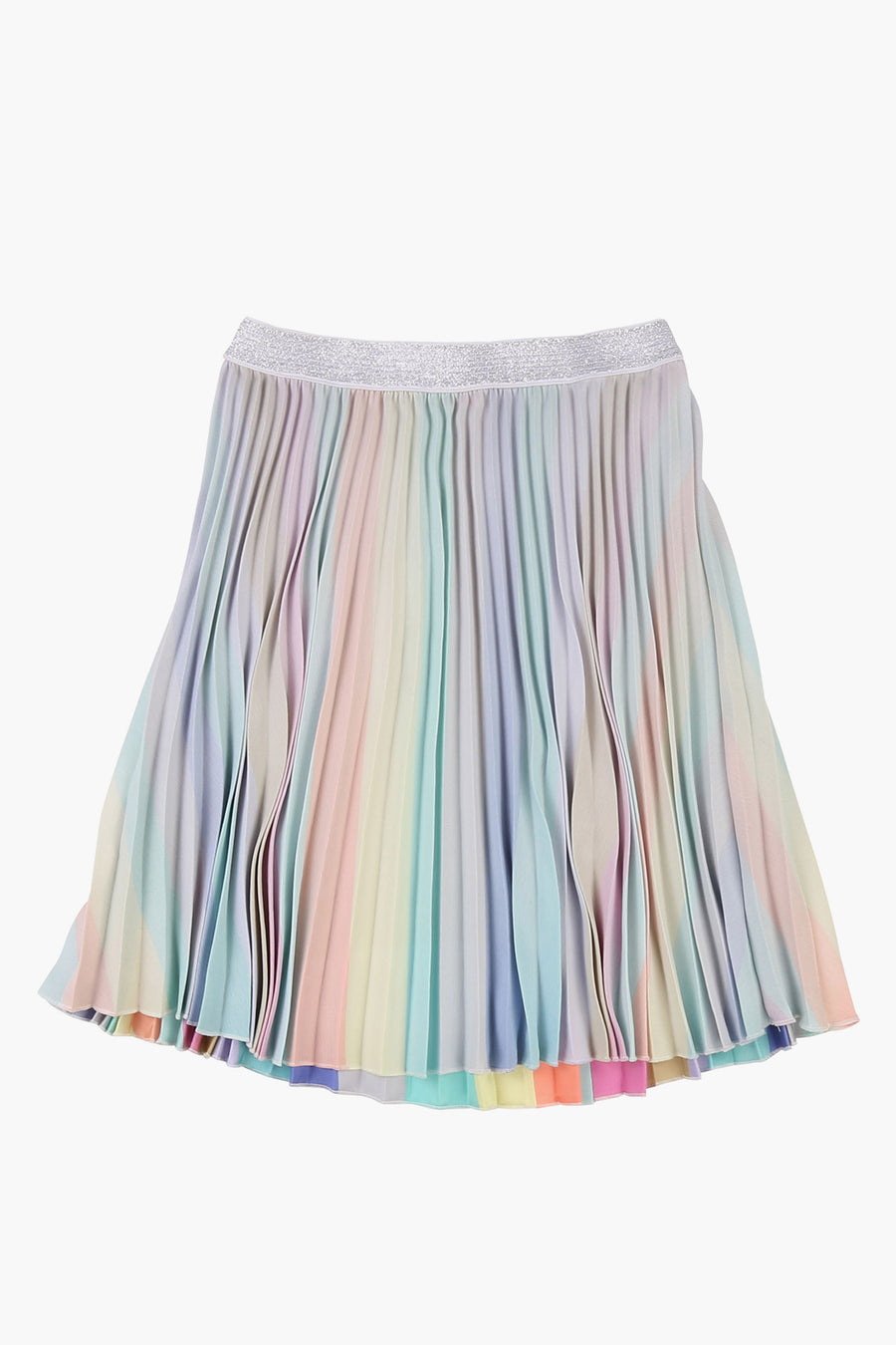 Billieblush Pleated Sateen Girls Skirt