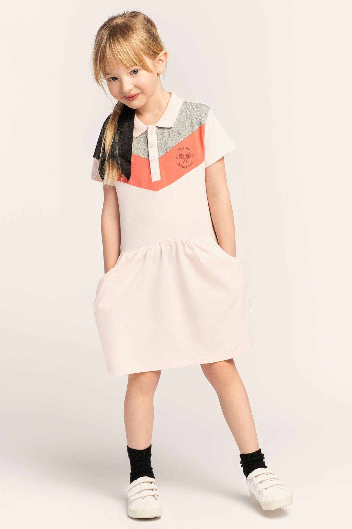 Miles Baby Polo Girls Dress