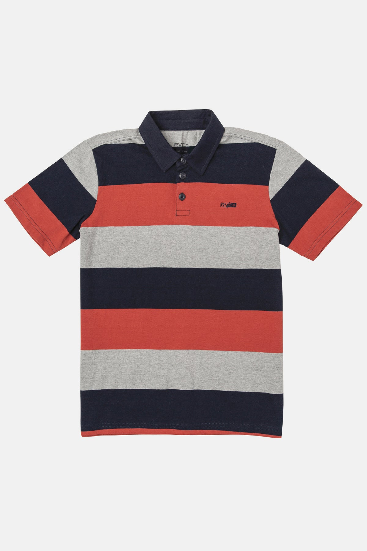 RVCA Cantera Stripe Boys Polo Shirt