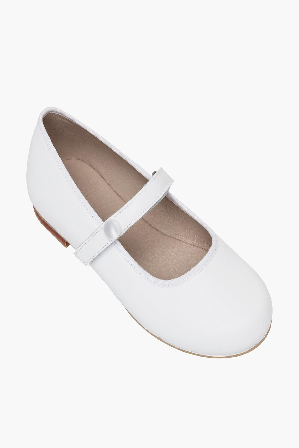 Elephantito Princess Mary Jane Flat - White