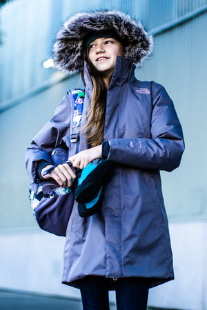 The North Face Arctic Swirl Down Girls Jacket