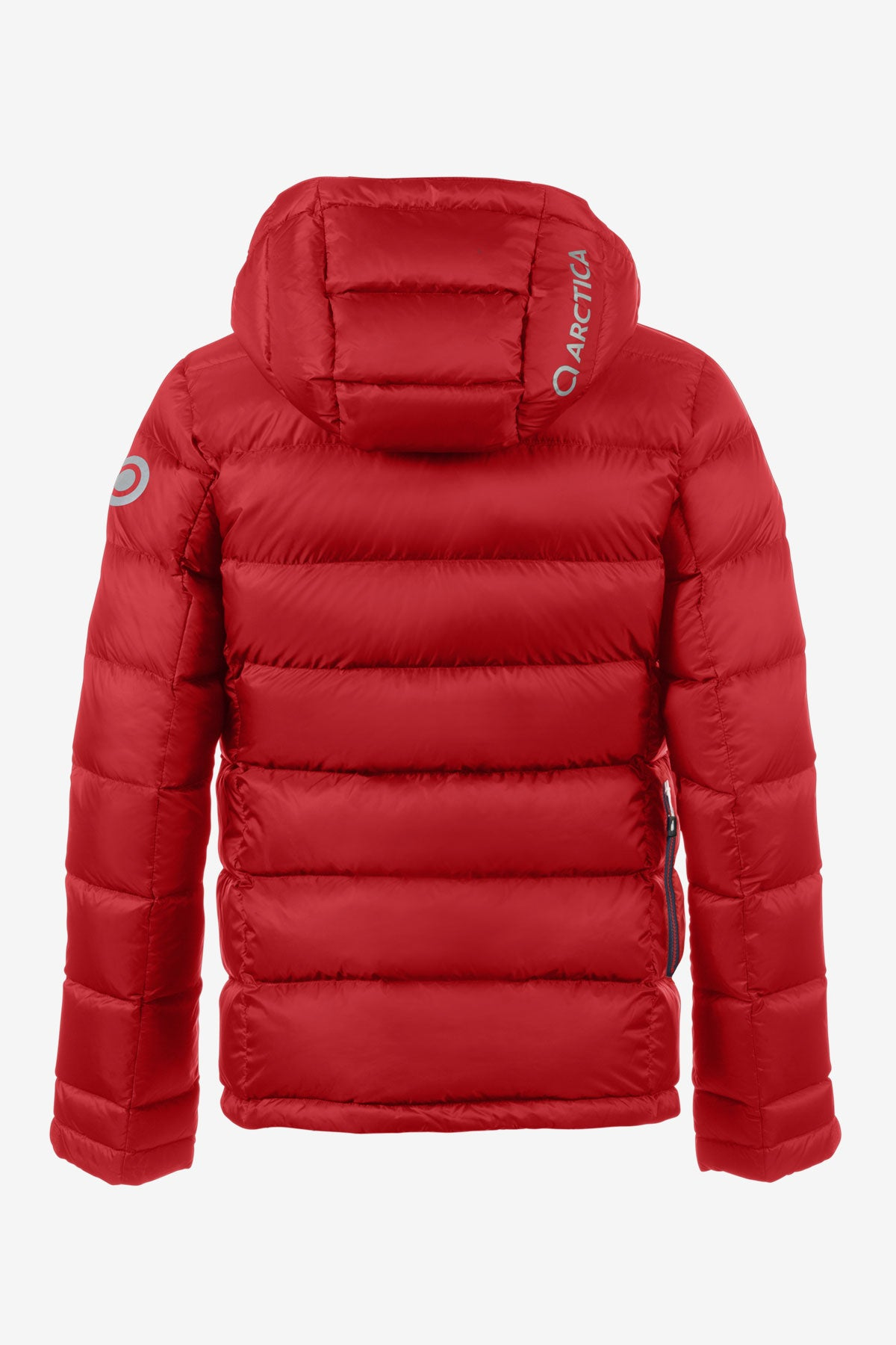Arctica Classic Down Kids Jacket - Red (Size 10/12 left)