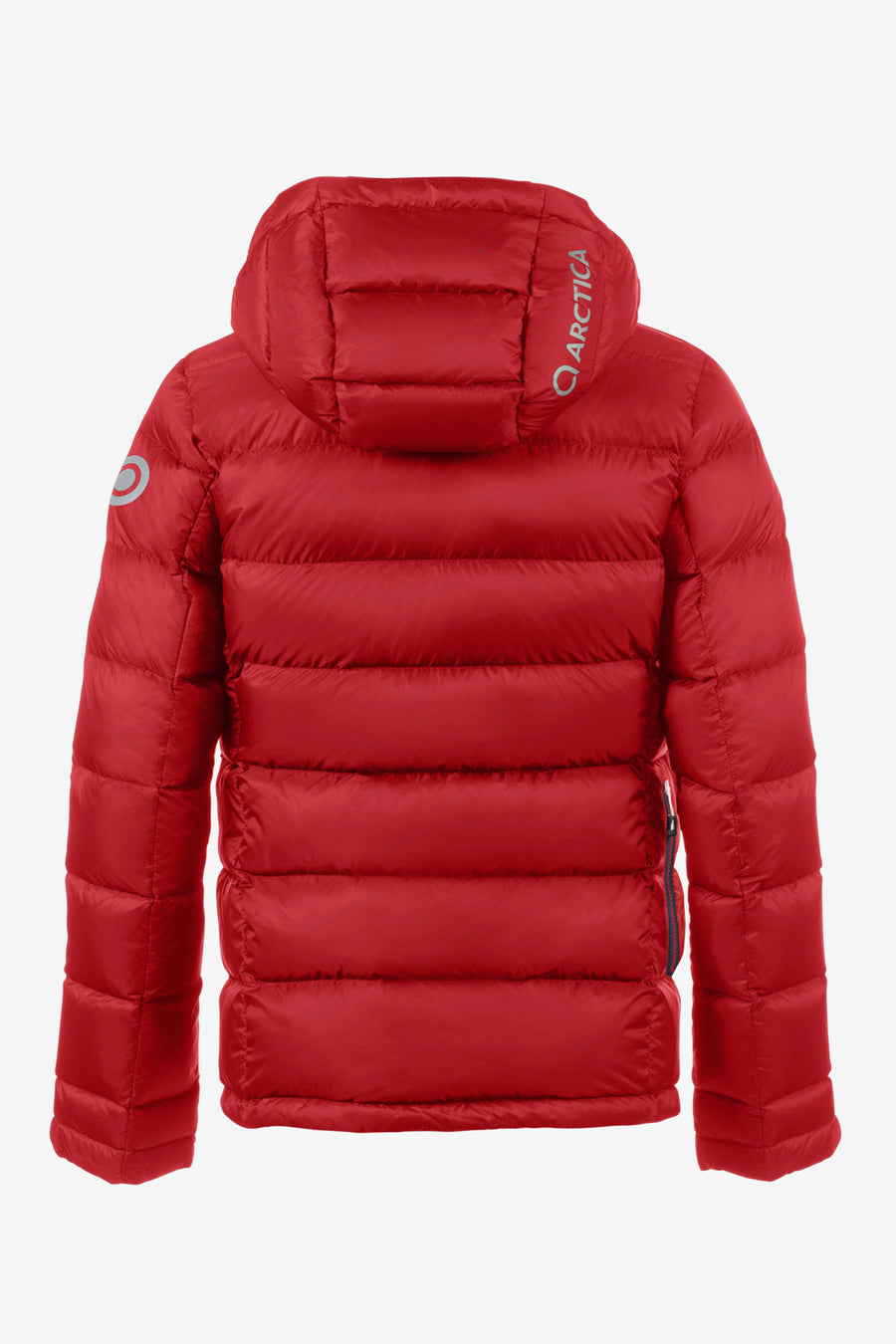 Arctica Classic Down Kids Jacket - Red